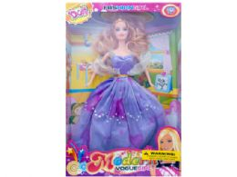 12 Bulk Fashion Doll With Sparkle Gown
