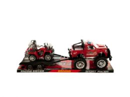 6 Bulk Friction Powered Fire Rescue Trailer Truck With Atv