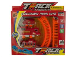 24 Bulk Battery Powered Train Set With Track