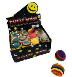 48 Bulk Foot Bag Toy