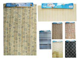 60 Bulk Non Slip Floor And Bath Mat Assorted Designs