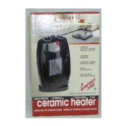 "6 Bulk Osc Ceramic Heater 12.5x8.5x7.25"""