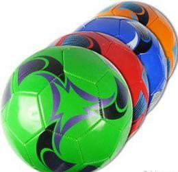 10 Bulk Official Size Swirly Soccer Balls