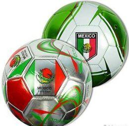 10 Bulk Official Size Mexican Soccer Balls