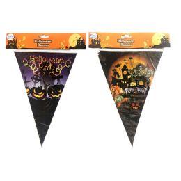 36 Bulk Party Solutions Halloween Banner Astd Designs 8 Feet