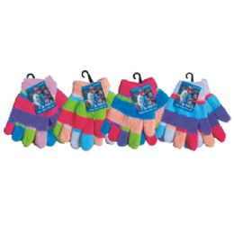 120 Bulk Winter Kid Fuzzy Glove