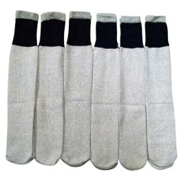 180 Bulk Mens Thermal Tube Socks Terry Lining Cold Resistant Thick And Warm