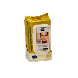 18 Bulk 60 Count Amoray Make Up Removing Wipes Dead Sea