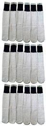18 Bulk Yacht & Smith Womens Cotton Thermal Crew Socks , Warm Winter Boot Socks 10-13