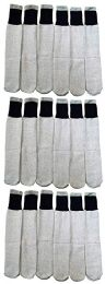 18 Bulk 18 Pairs Of Wholesale Mens Full Cushion Thermal Tube Socks, Cold Resistant (9-11)