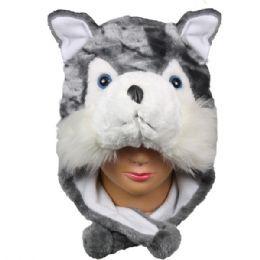 36 Bulk Winter Animal Hat Fox