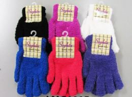 120 Bulk Ladies Cozy Glove Solid Colors