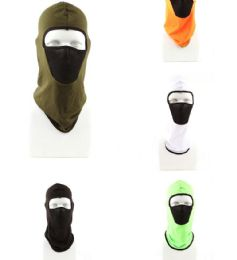 120 Bulk Adult Winter Ski Mask Assorted Colors