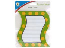 72 Bulk Lemon Lime Notepad