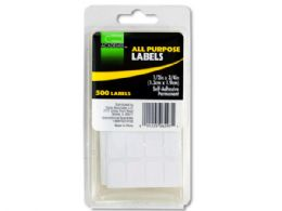 144 Bulk All Purpose SelF-Adhesive Labels