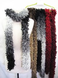 24 Bulk Womens Fashion Knit Winter Scarf
