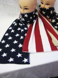 24 Bulk Womens Fashion American Winter Scarf