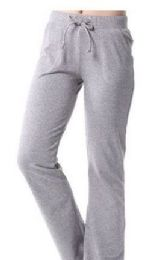 24 Bulk Womens Athletic Pants Size Medium Assorted Color