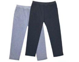 24 Bulk Mens Athletic Pants Size Medium In Black And Grey