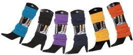 60 Bulk Womens Legwarmers In Assorted Colors