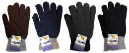 48 Bulk Knitted Glove Adult Size