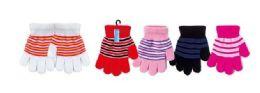 72 Bulk Kids Stretch Winter Gloves
