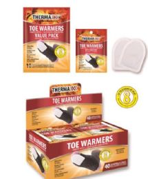 40 Bulk Air Activated Toe Warmers With Adhesive