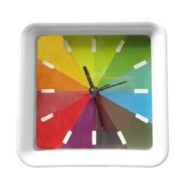 36 Bulk Rainbow Design Clock