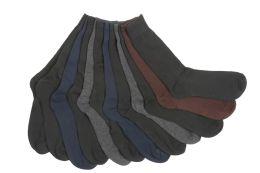 60 Bulk Mens Solid Color Dress Socks