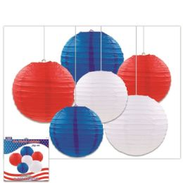 24 Bulk July Fourth Lantern Set