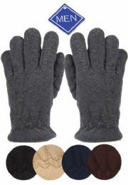 24 Bulk Men's Thermal Fleece Glove