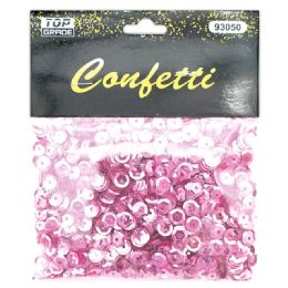144 Bulk Sequins Pink