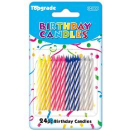 144 Bulk Twenty Four Count Birthday Candle