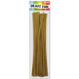 144 Bulk Forty Count Tinsel Stems Coffee