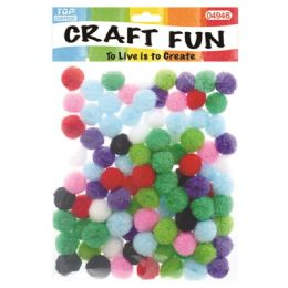 144 Bulk Fuzzy Ball One Hundred Pack