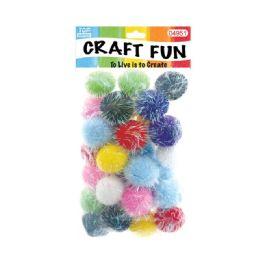 144 Bulk Fuzzy Ball Craft Thirty Pack