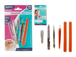 144 Bulk 5pc Manicure Set