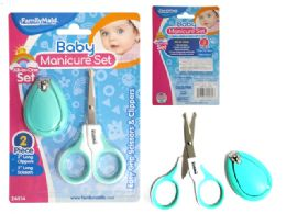 144 Bulk 2pc Baby Manicure Set