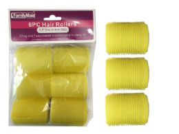 96 Bulk 6pc Cling + Foam Hair Rollers