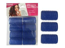 96 Bulk 8 Piece Cling Hair Rollers