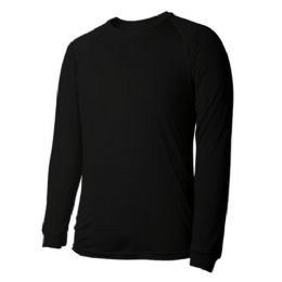 60 Bulk Long Sleeves Black T Shirts