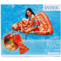 6 Bulk Pizza Slice Mat In Color Box Designed For Adults