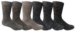 36 Bulk Thermal Boot Socks For Men, Hunting Hiking Backpacking Socks