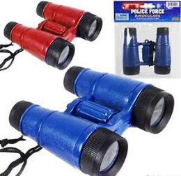 144 Bulk Police Force Toy Binoculars