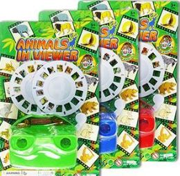 48 Bulk Animal Picture Disc Viewers