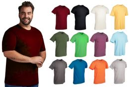 36 Bulk Mens Cotton Short Sleeve T Shirts Mix Colors Size 2XL