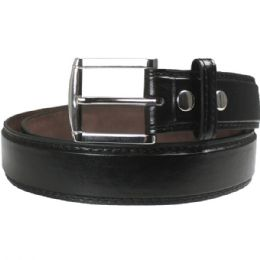 36 Bulk Men Belt Small In Black