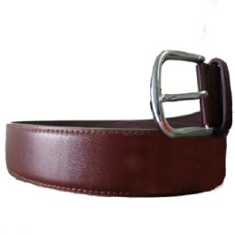36 Bulk Mens Dress Belt In Brown