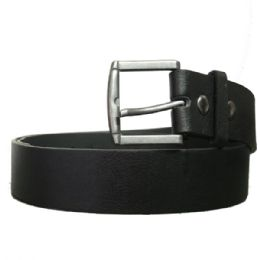 36 Bulk Mens Dress Belt In Black