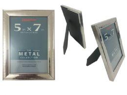 "120 Bulk 5""x7"" Metal Photo Frame"